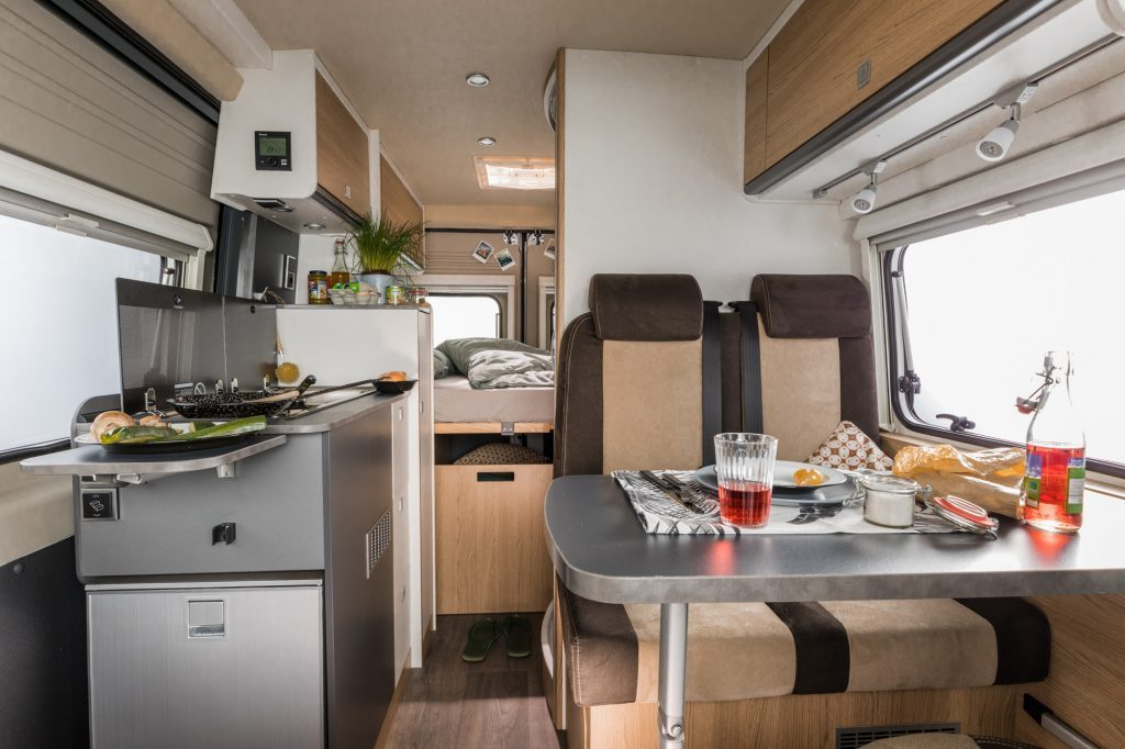 best camper van for family - Ducato Sunlight Cliff conversion