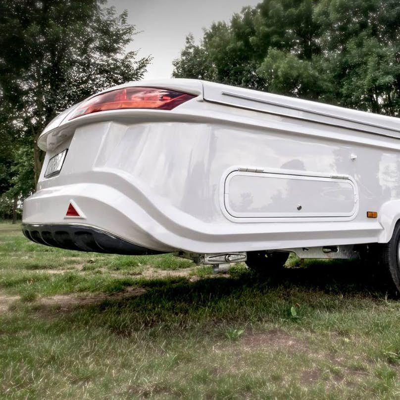 pop up trailer - back