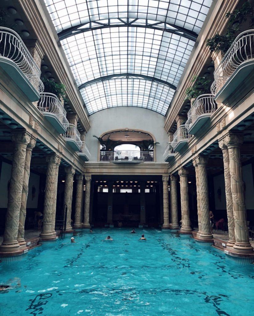 van life travel - budapest