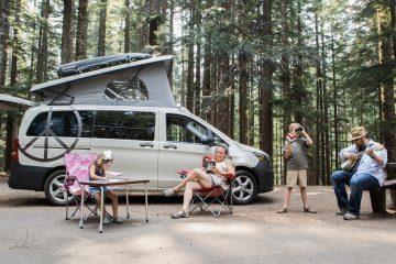 compact camper van - feature
