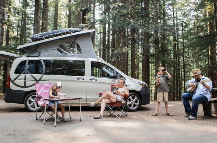 compact camper van - feature