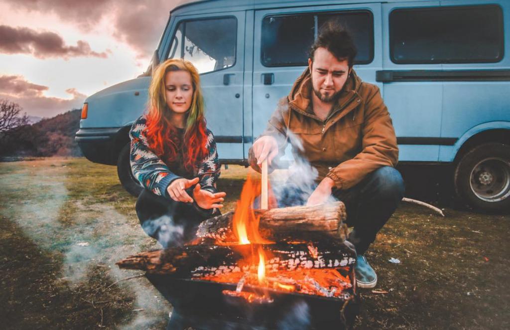 van life influencers - rust
