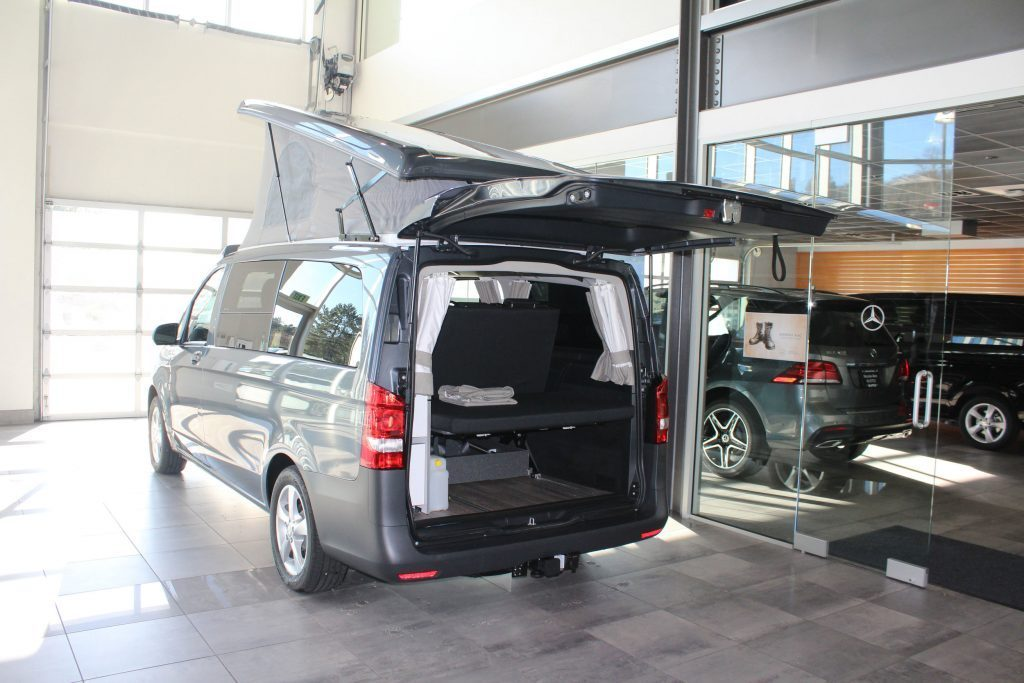 compact camper van - showroom full camper