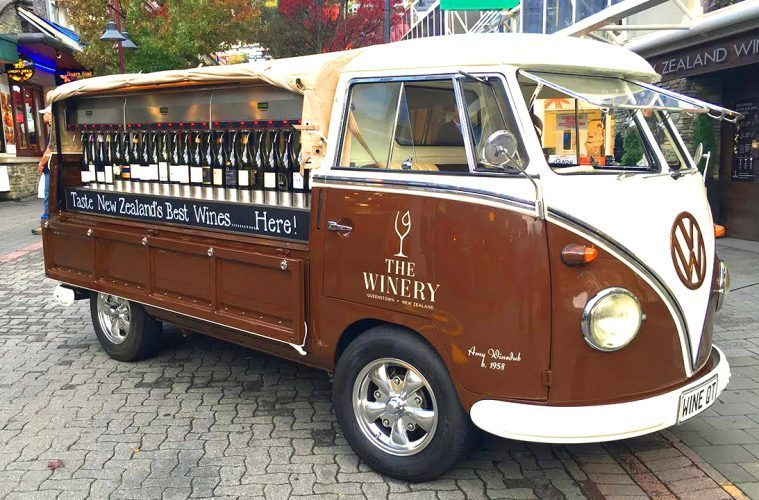 Meet The Vintage Vw Bus Turned Wine Bar Touring New Zealand
