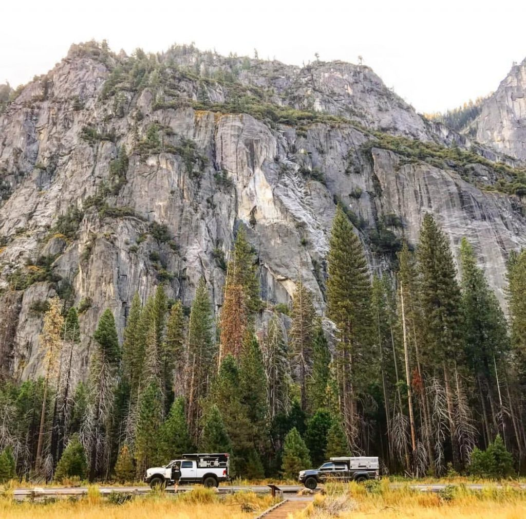 van life travel - yosemite