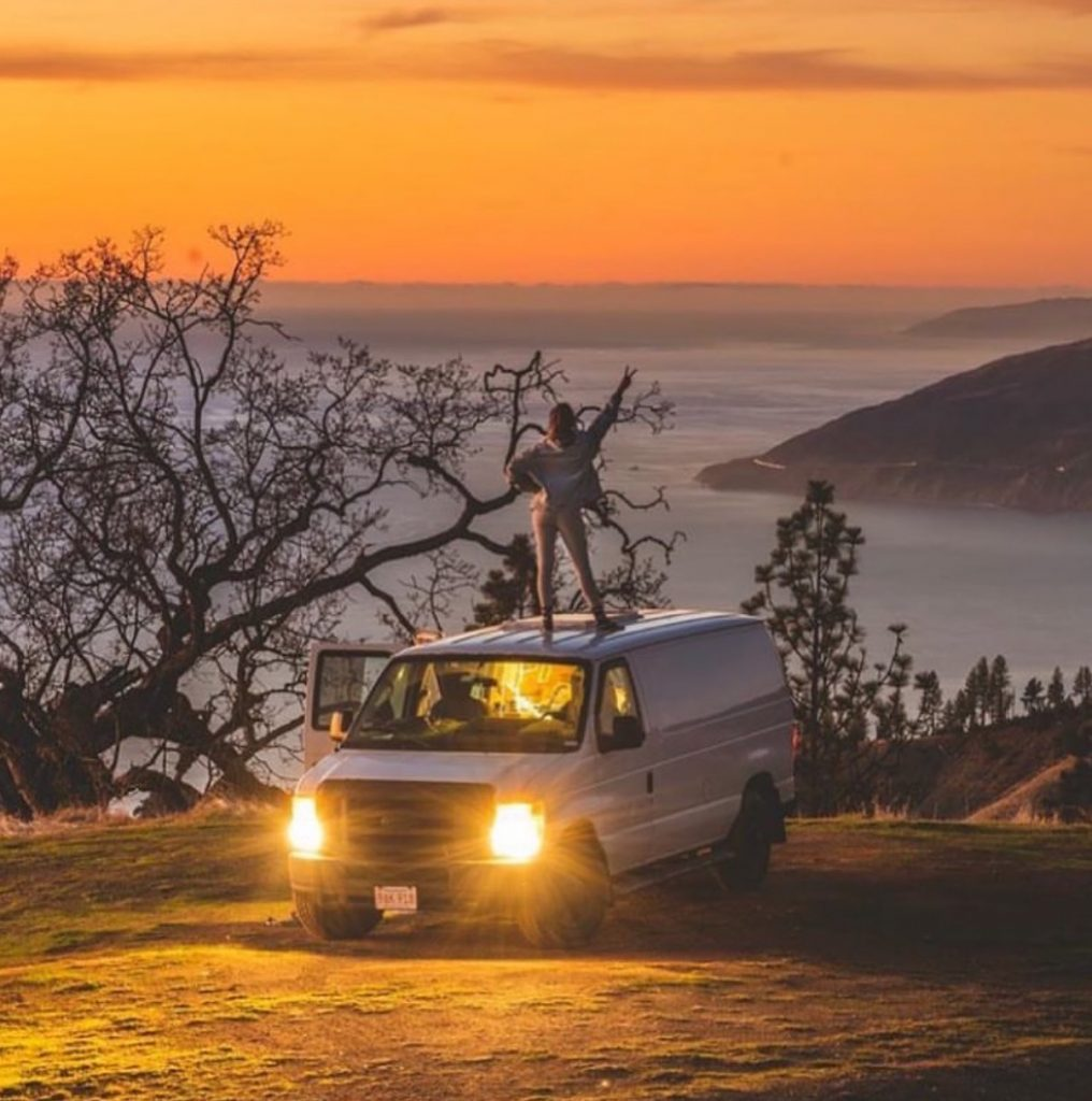 van life travel - big sur