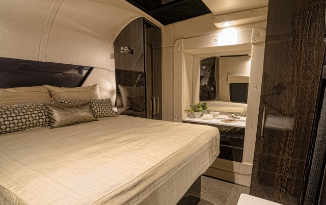 carbon fiber caravan - bedroom 2