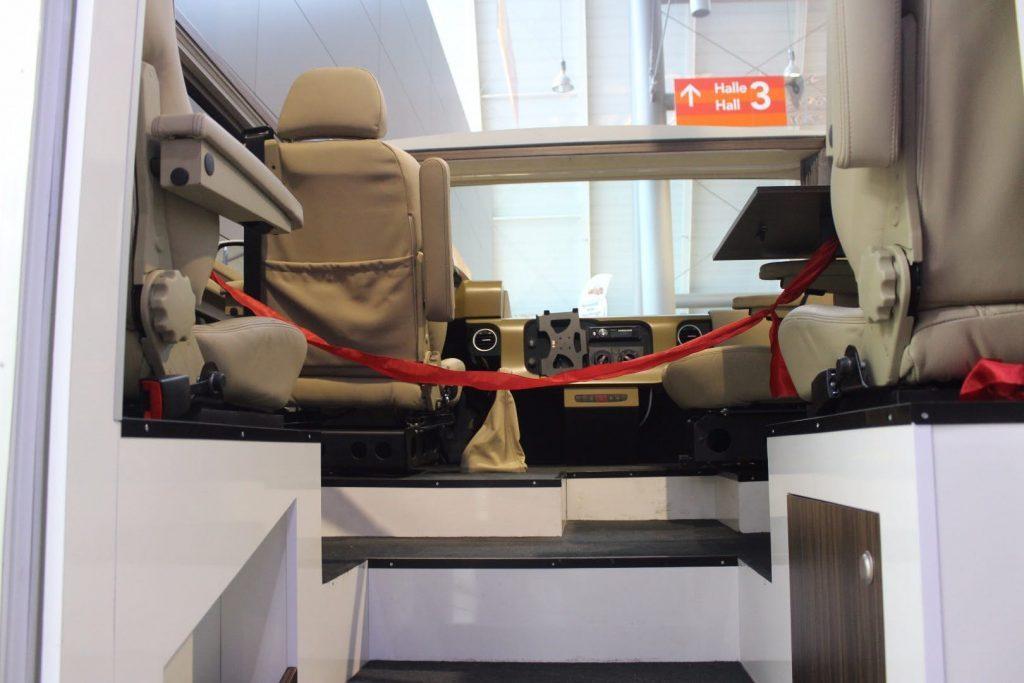 futuristic camper - cab