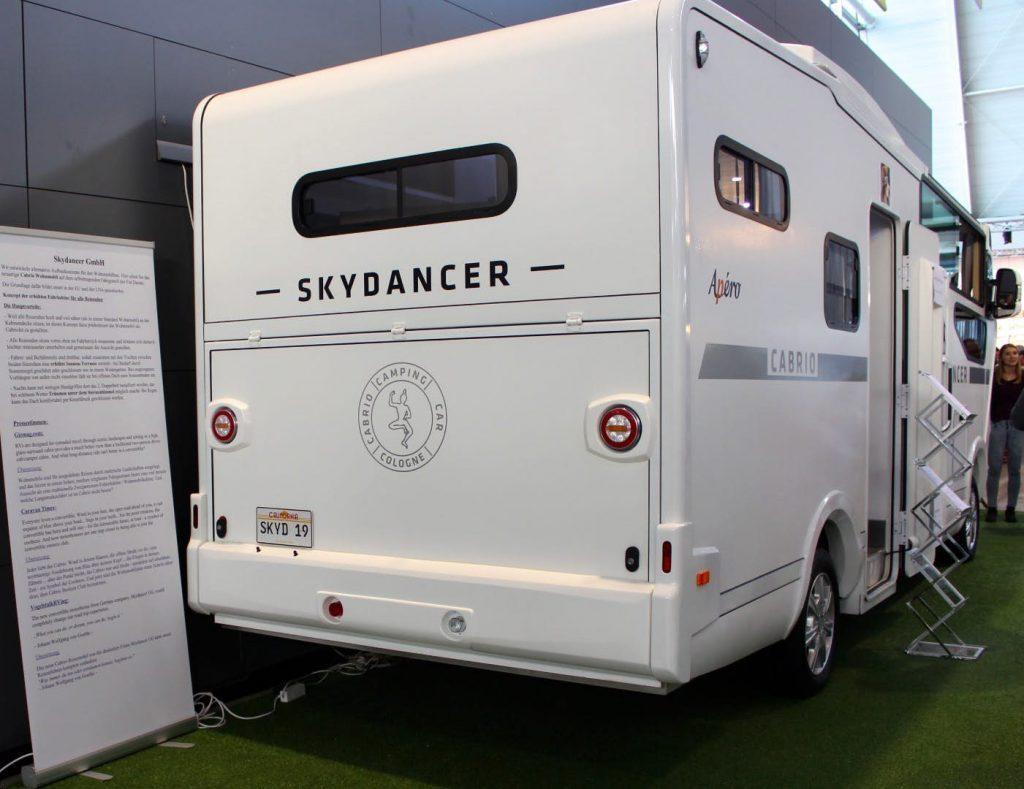 futuristic camper - boot