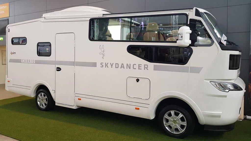 futuristic camper - side