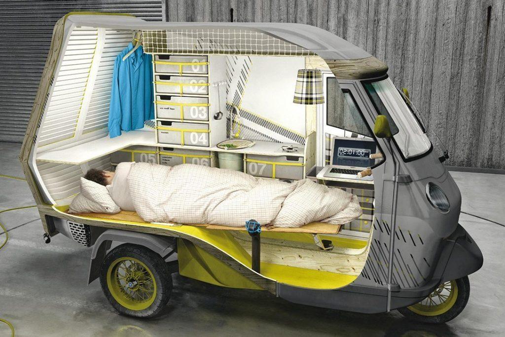small campers - tuk tuk concept