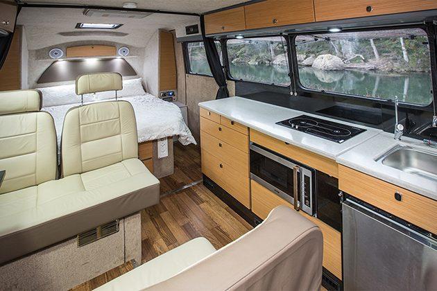 best caravans - inside kruiser