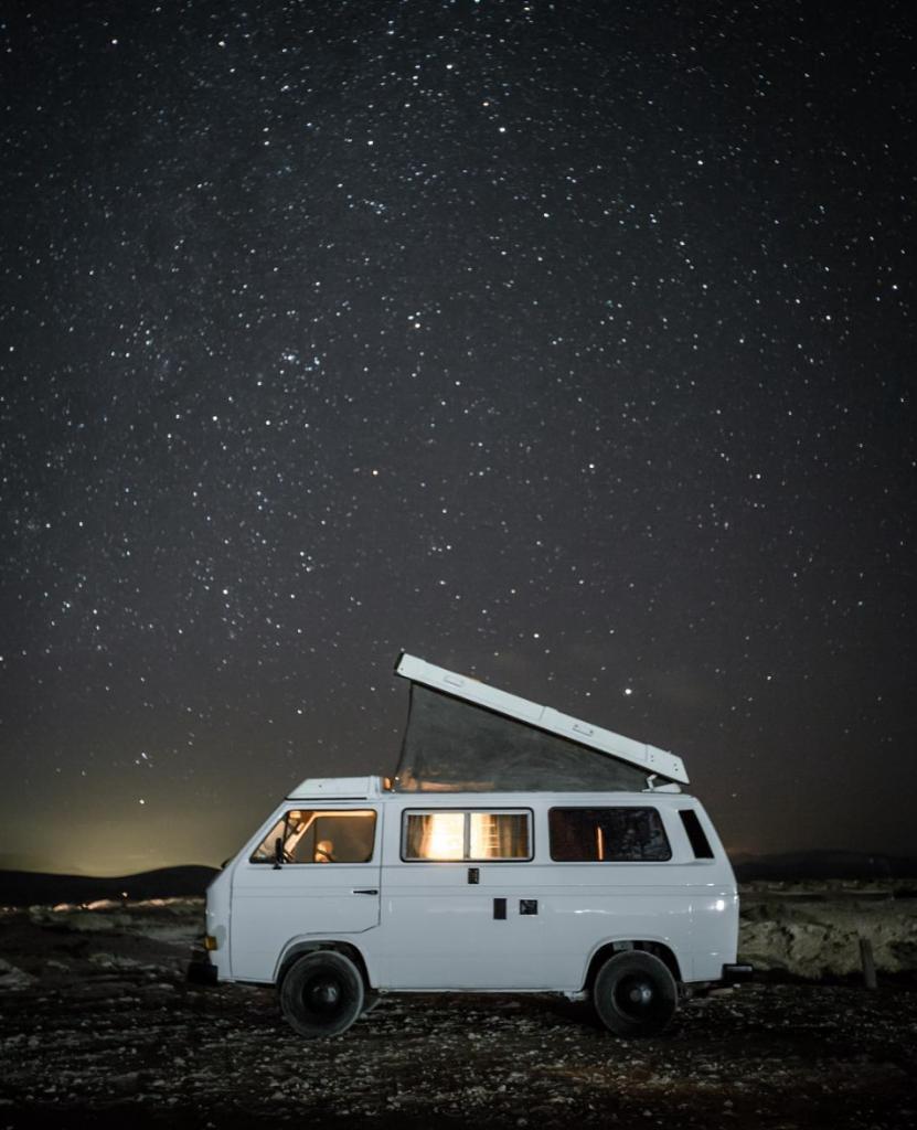 travel in a van - VW stars