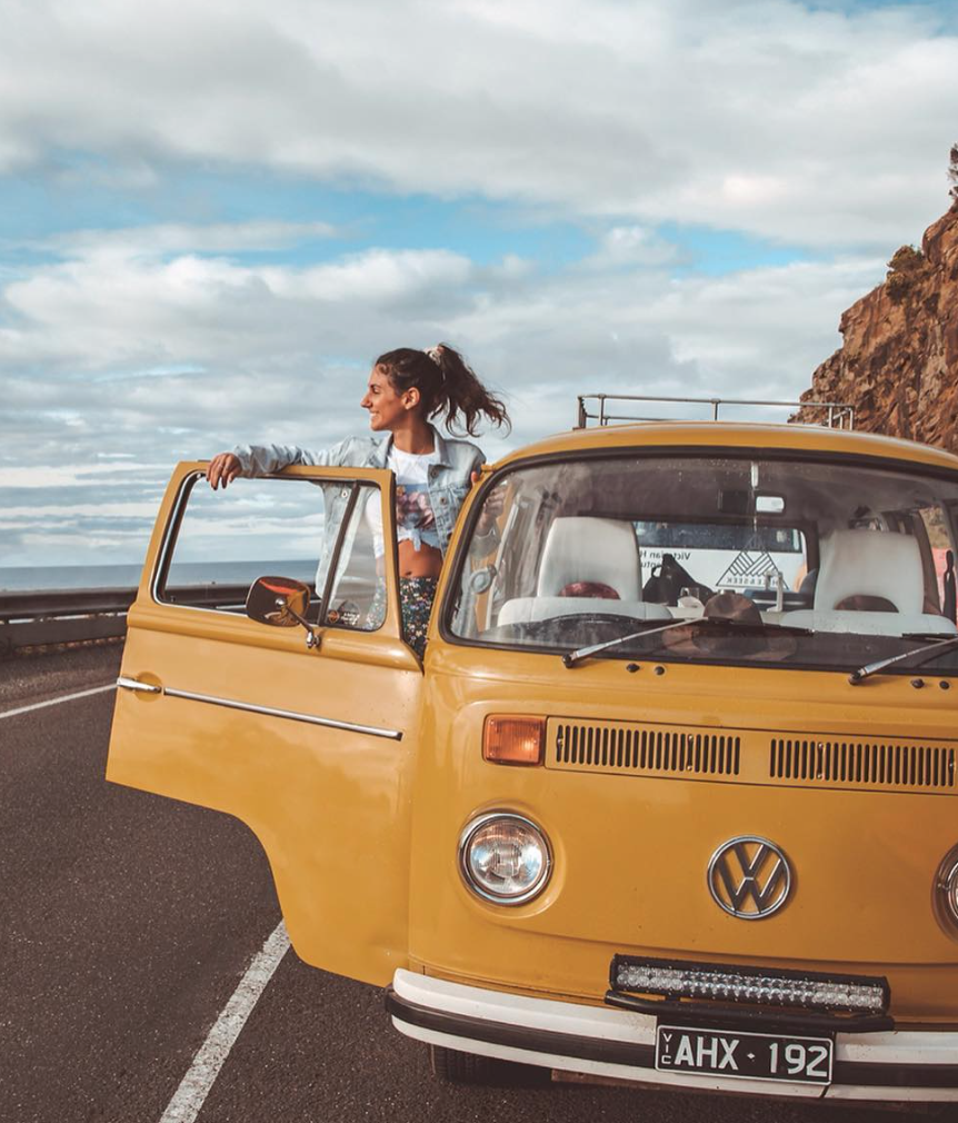 rent a campervan - vw