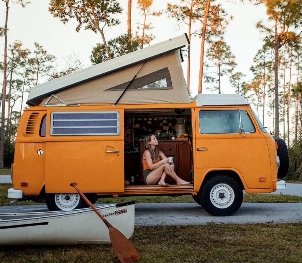 rent a campervan - kit whistler