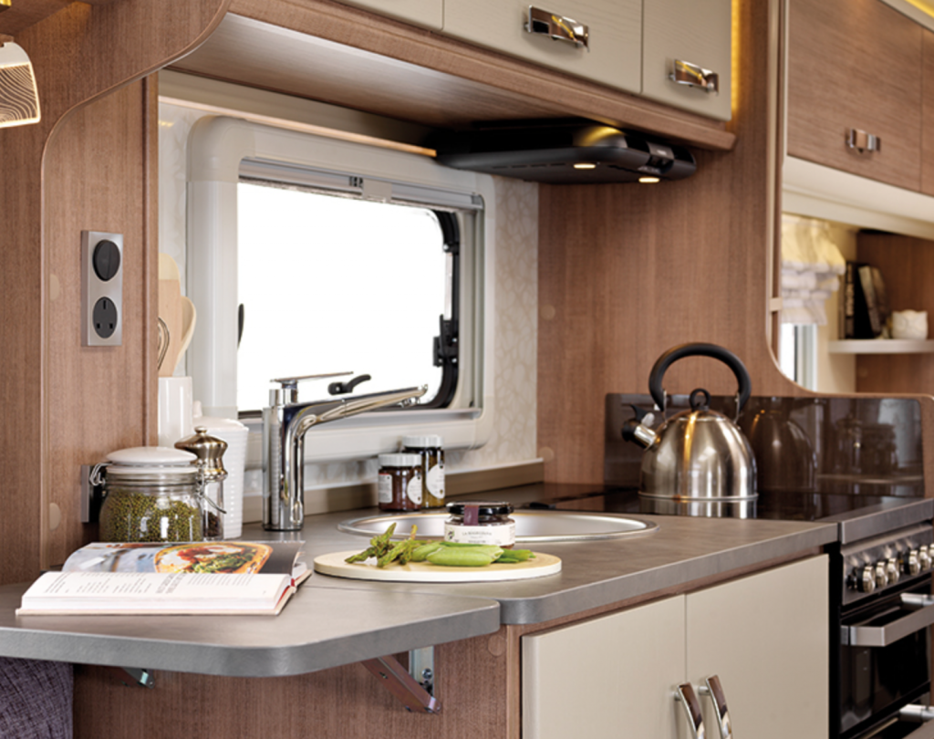 best caravans - kitchen lunar