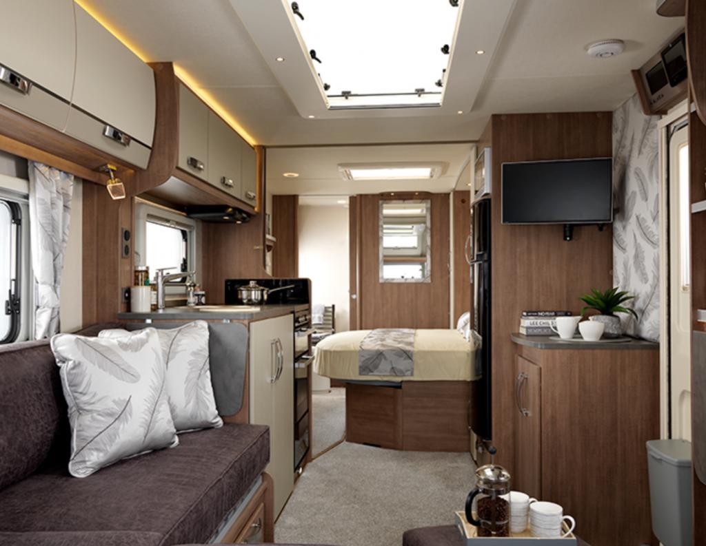 best caravans - inside lunar