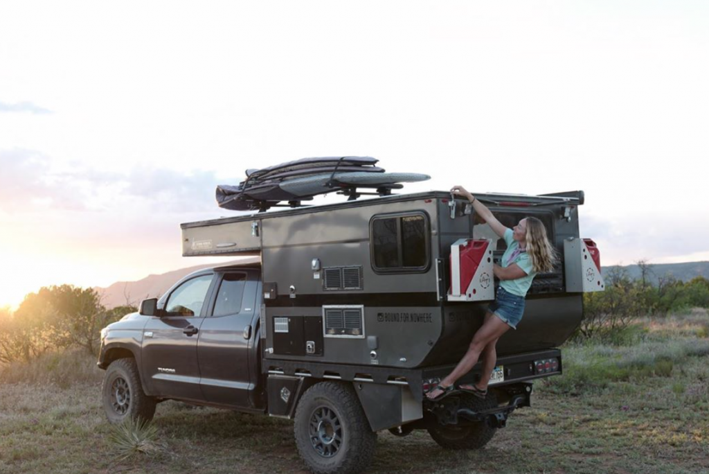 Toyota Tundra Camper With Pop Up Top Is The Ultimate Off Road Rig
