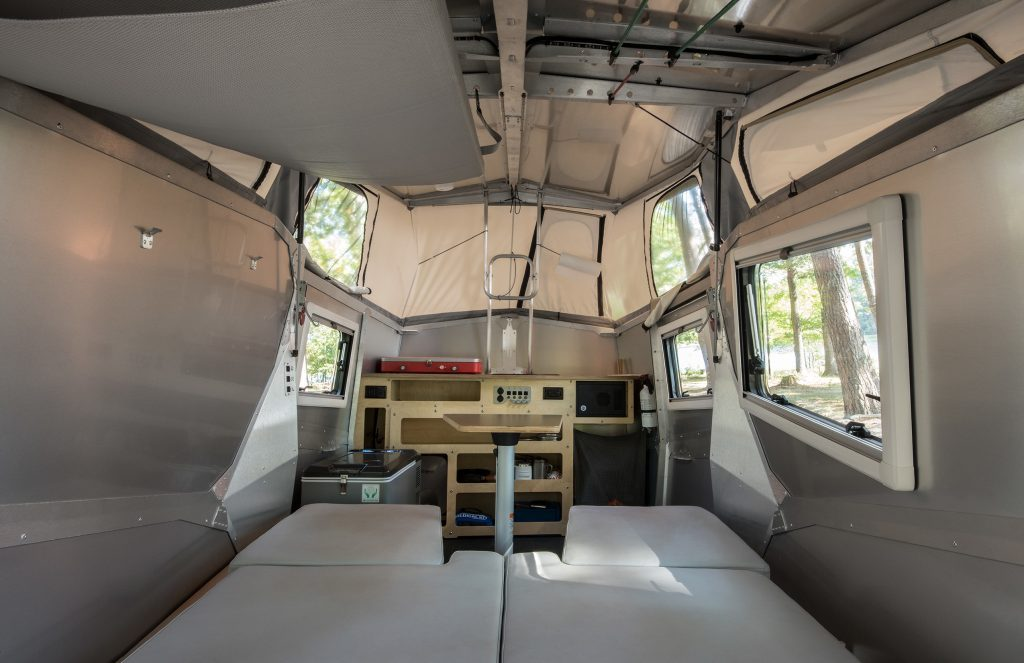small campers - Cricket Camper - inside