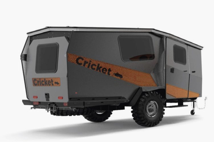 cricket camper - outside