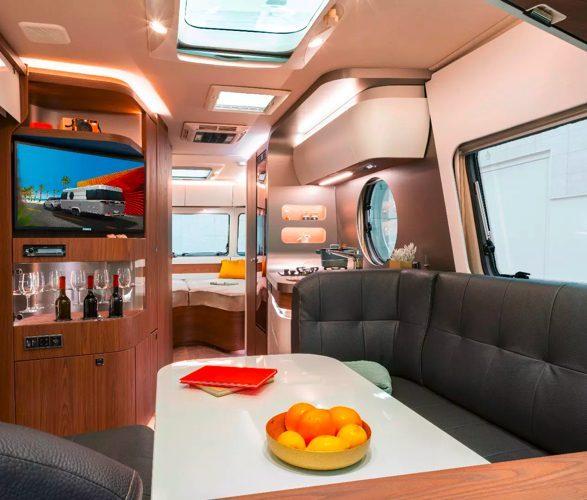 best caravans - eriba inside