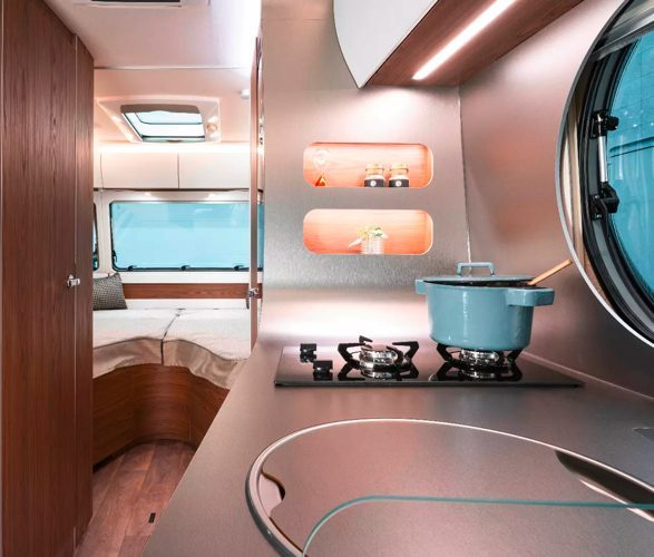 best caravans - eriba kitchen