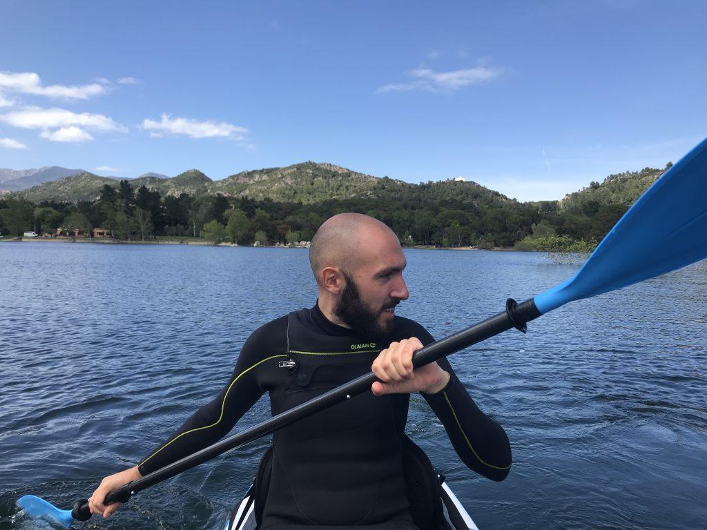 bluefin paddleboards - seb kayak mode