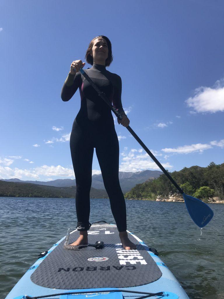 bluefin paddleboards - Rose paddle