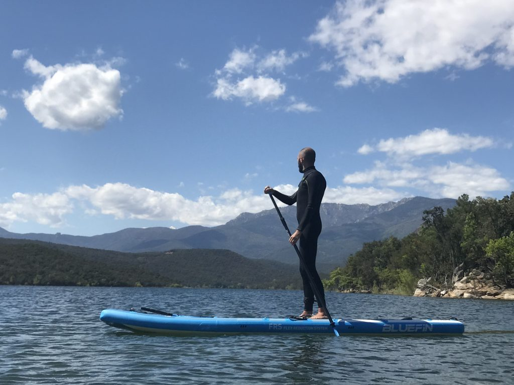 bluefin paddleboards - seb standing up paddle