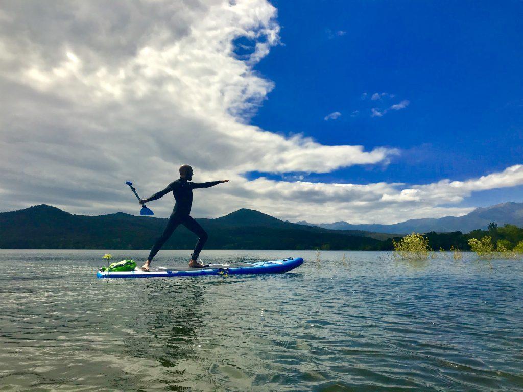 bluefin paddleboards - seb yoga