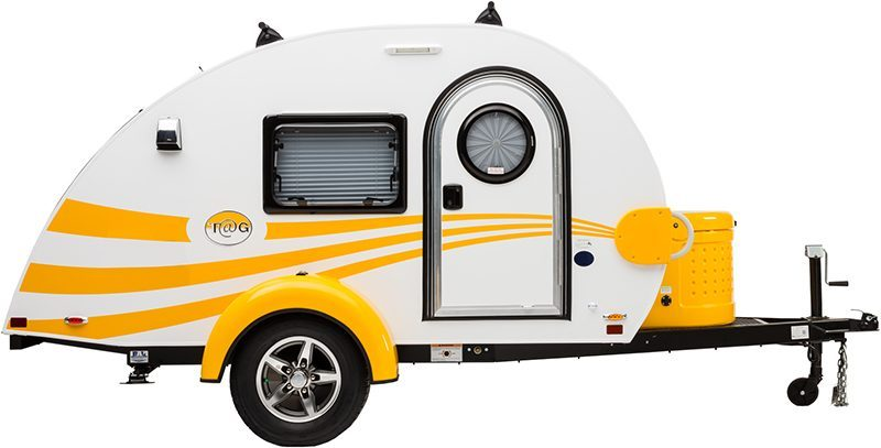 Yellow Tag Teardrop camper