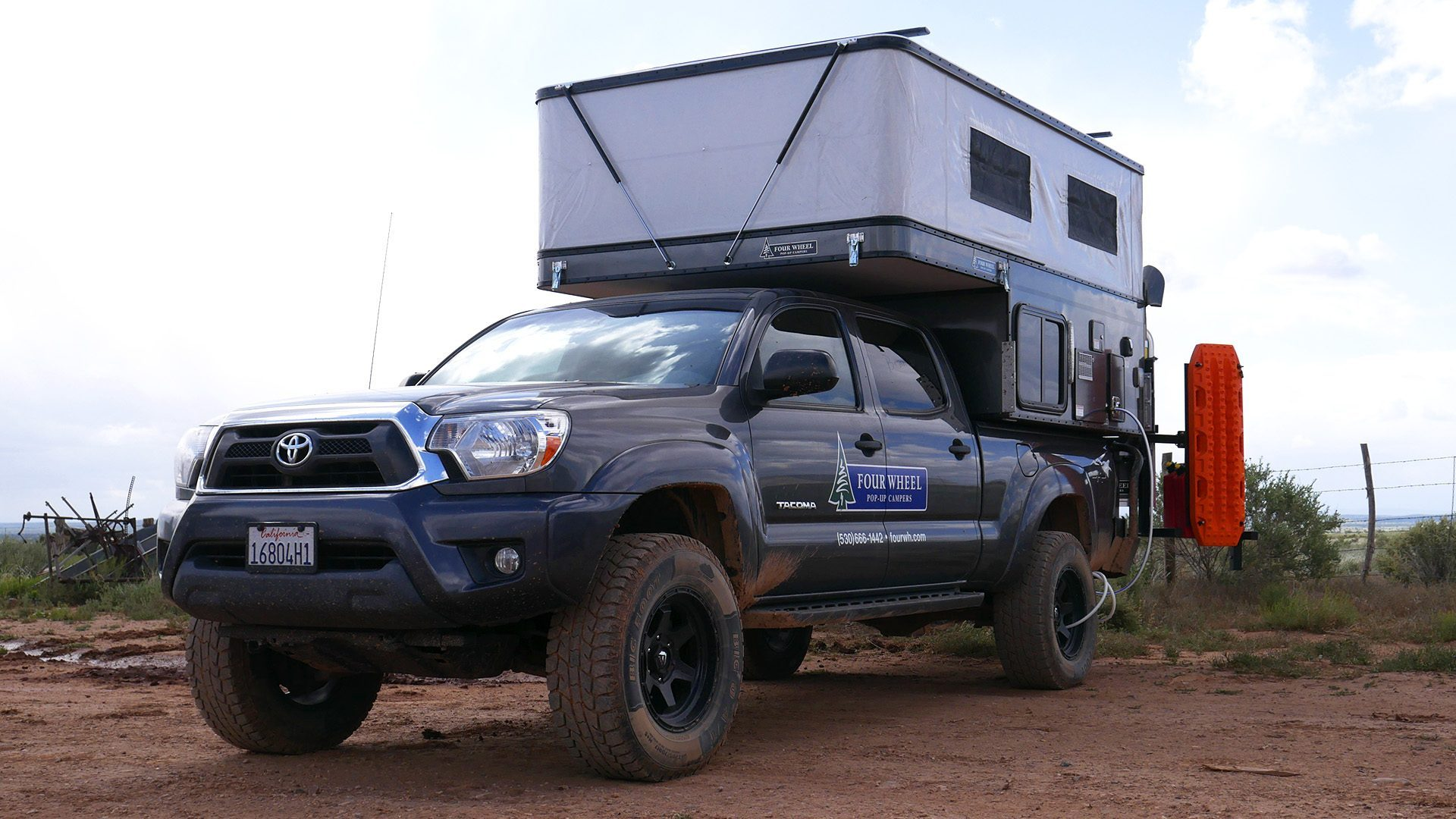 Toyota Tacoma Camper Offers Customised Off Grid Living