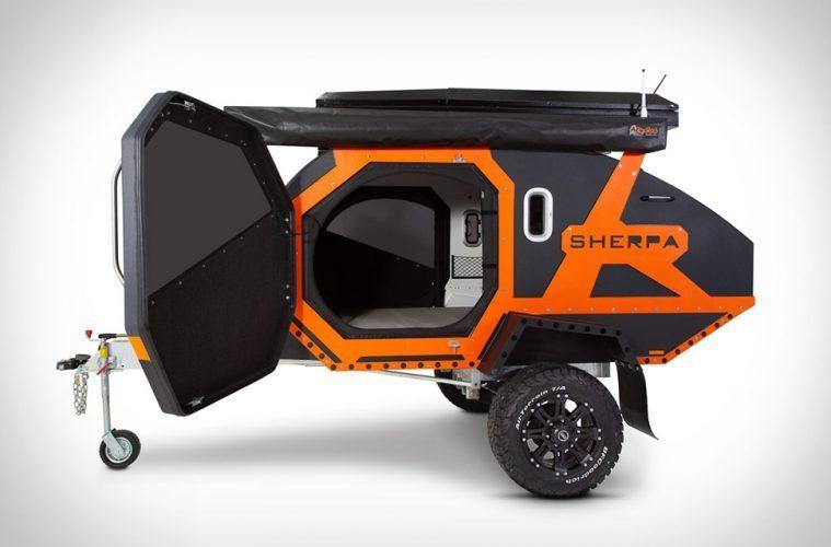 sherpa camper trailer