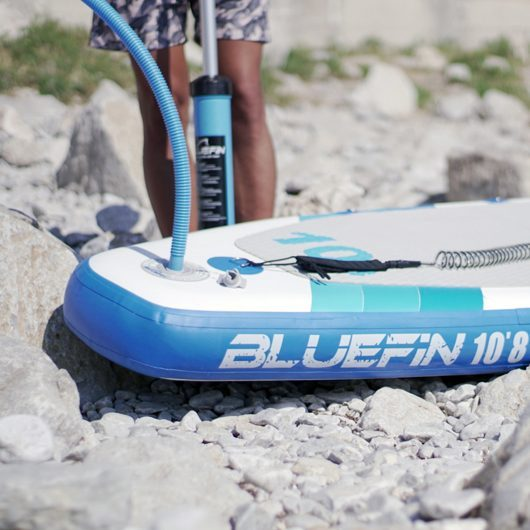 bluefin paddleboards - pump strap