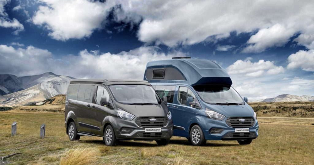 Maxi Roof and regular ford transit nugget