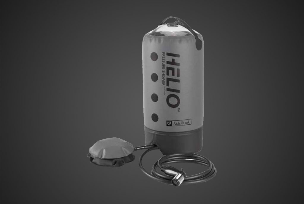 helio portable shower