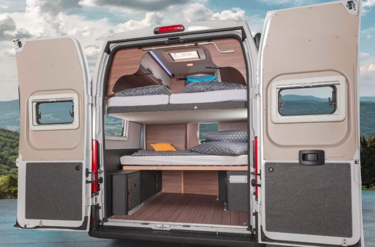 Best Family Camper Sleeps Up To 7 People And Has An Onboard Shower