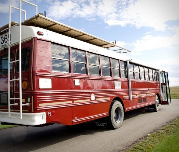 The Best School Bus Conversion You'll Ever Set Eyes On