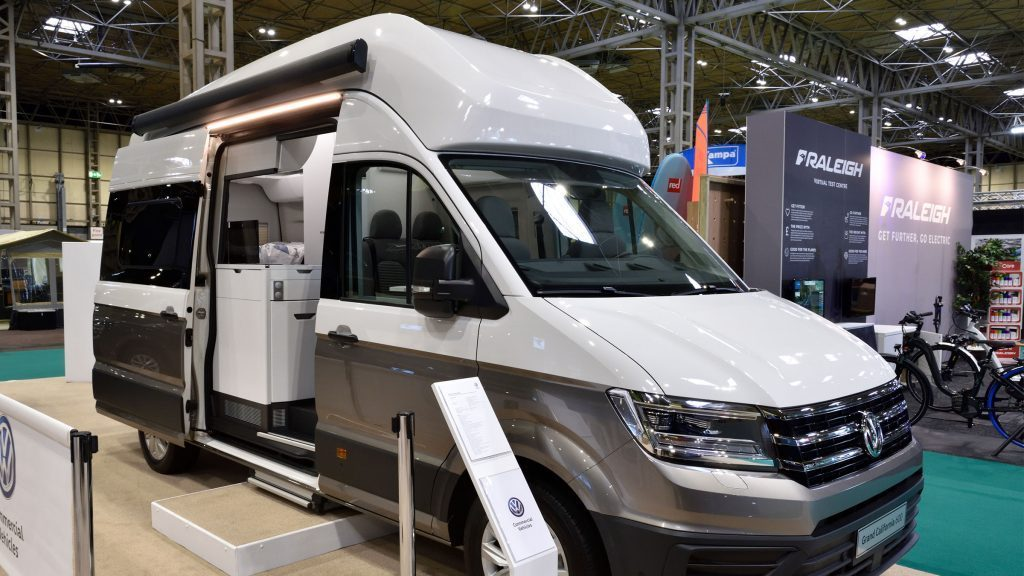 The outside of VW's new campervan