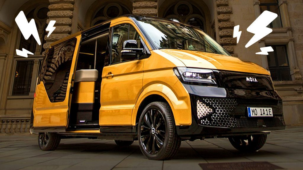 MOIA electric campervans