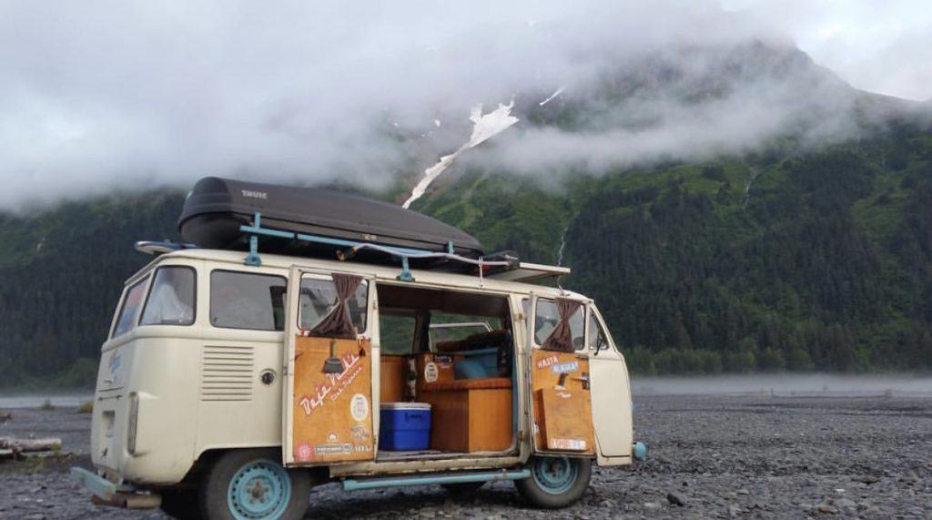 Tiny house youtube, vw bus.