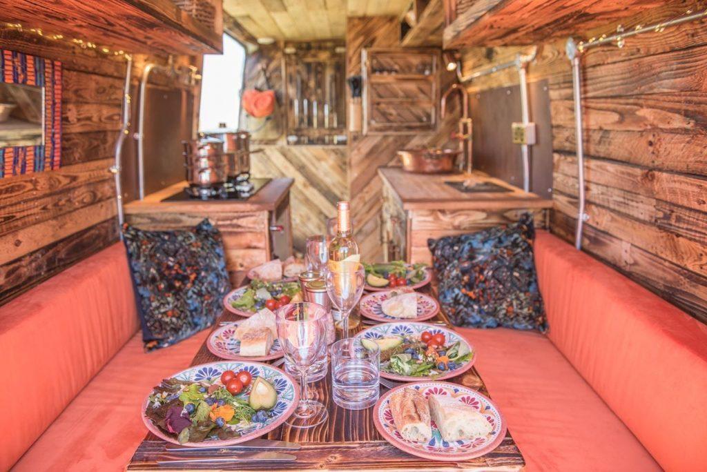 Inside a quirky campers camper  - Hire A Campervan