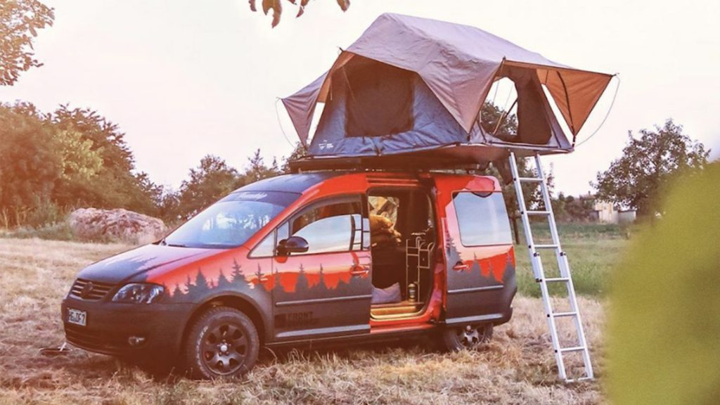 tiny campers tent