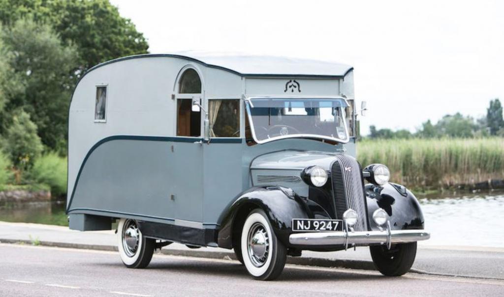 Captain Dunn's self built camper van