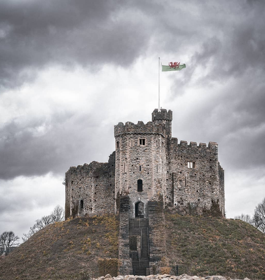 Cardiff Castle - one of the best places to visit in a campervan UK