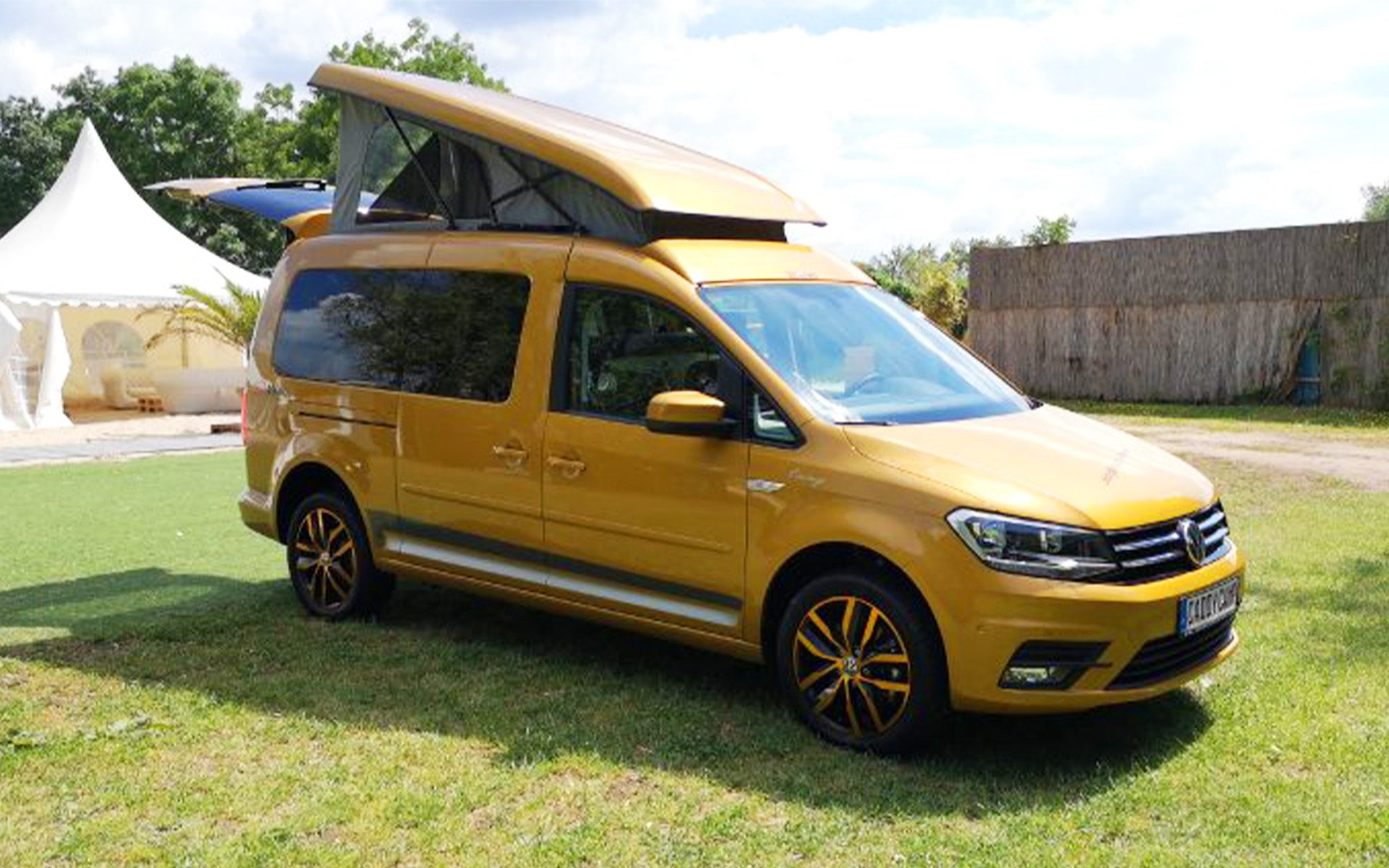 Why The Vw Caddy Camper Is The Most Underrated Micro Camper Ever