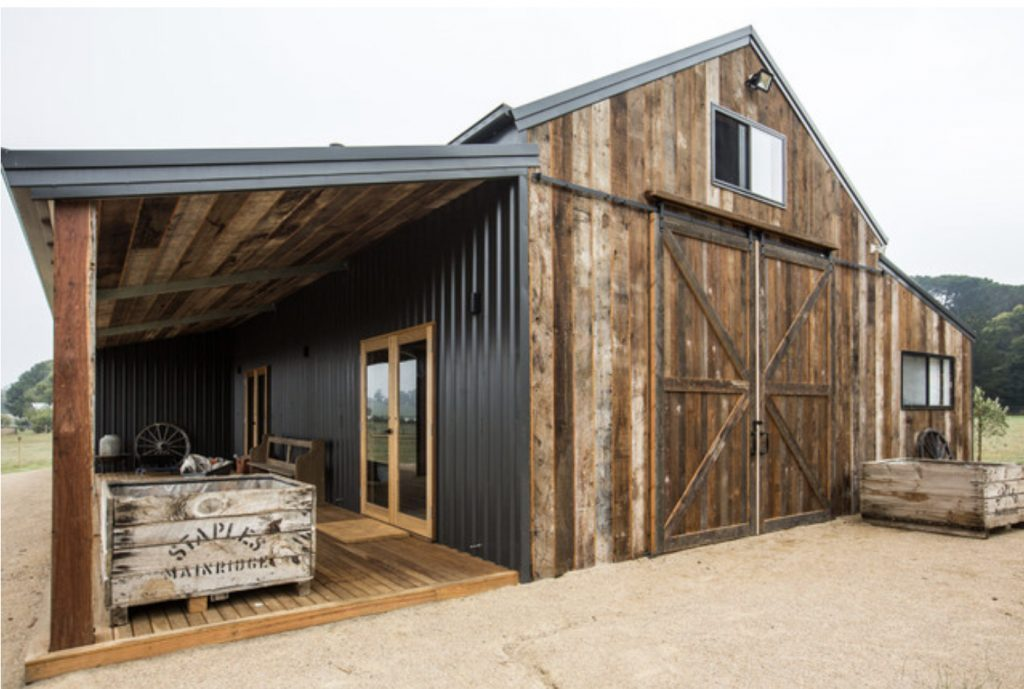 Barn style shed house