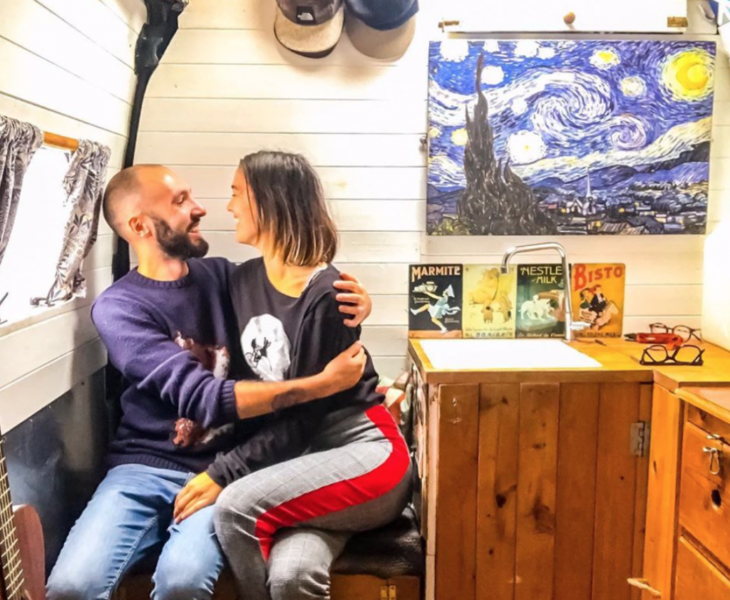 Living in a tiny house as a couple