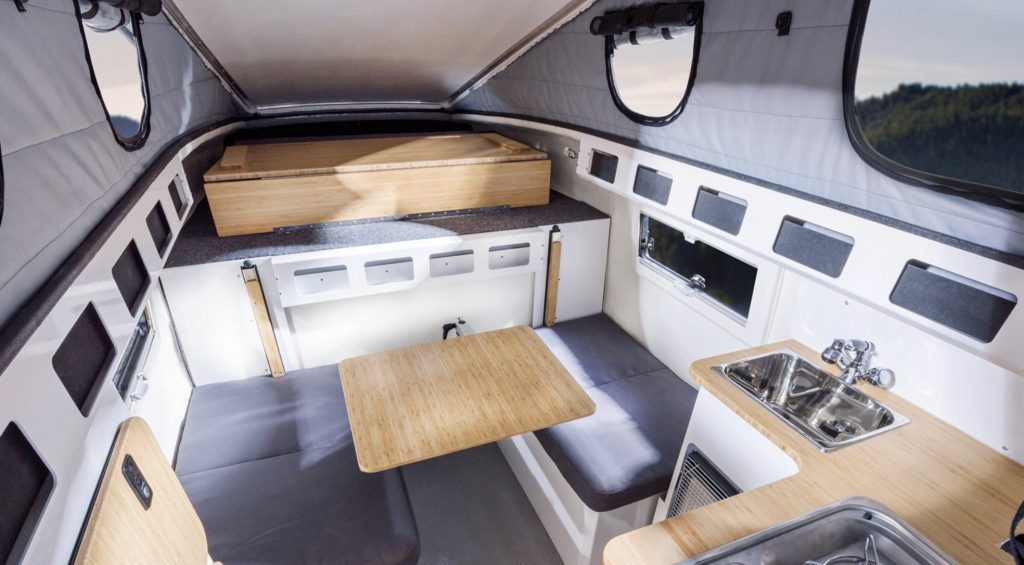 Inside the EarthCruiser GZL 300