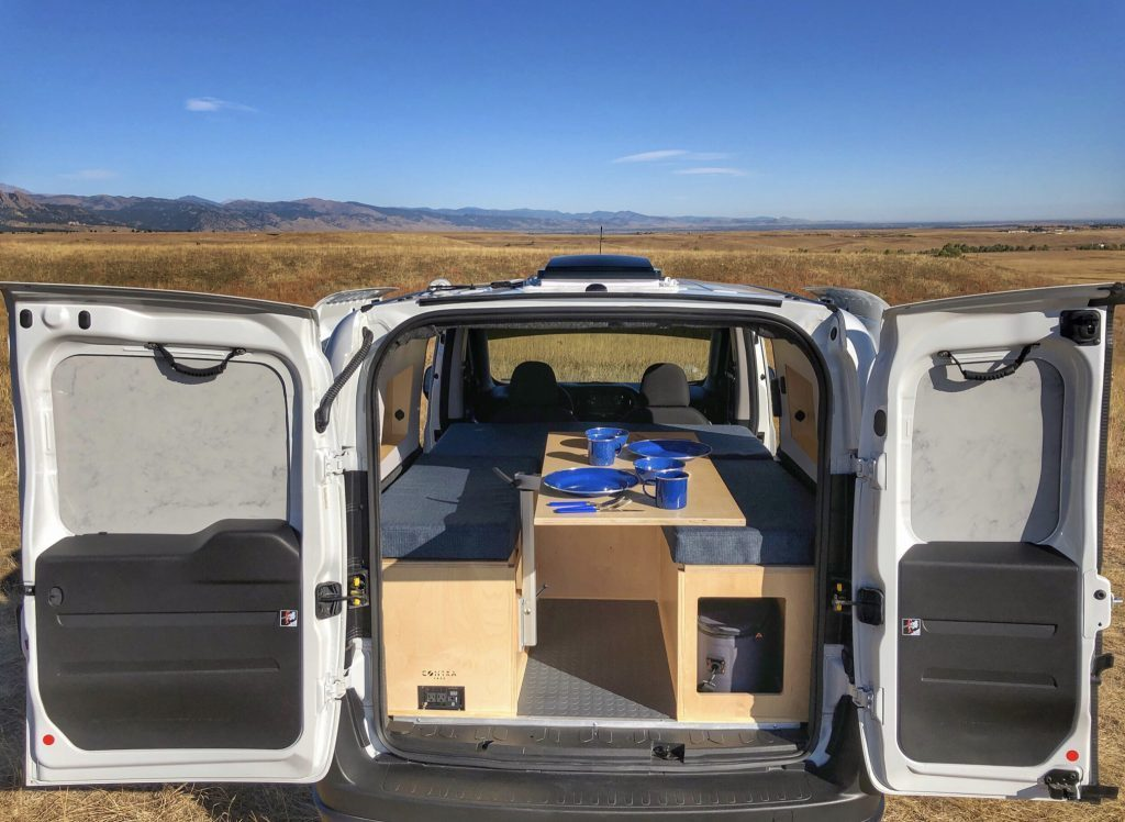 Ram ProMaster City with horseshoe seating area